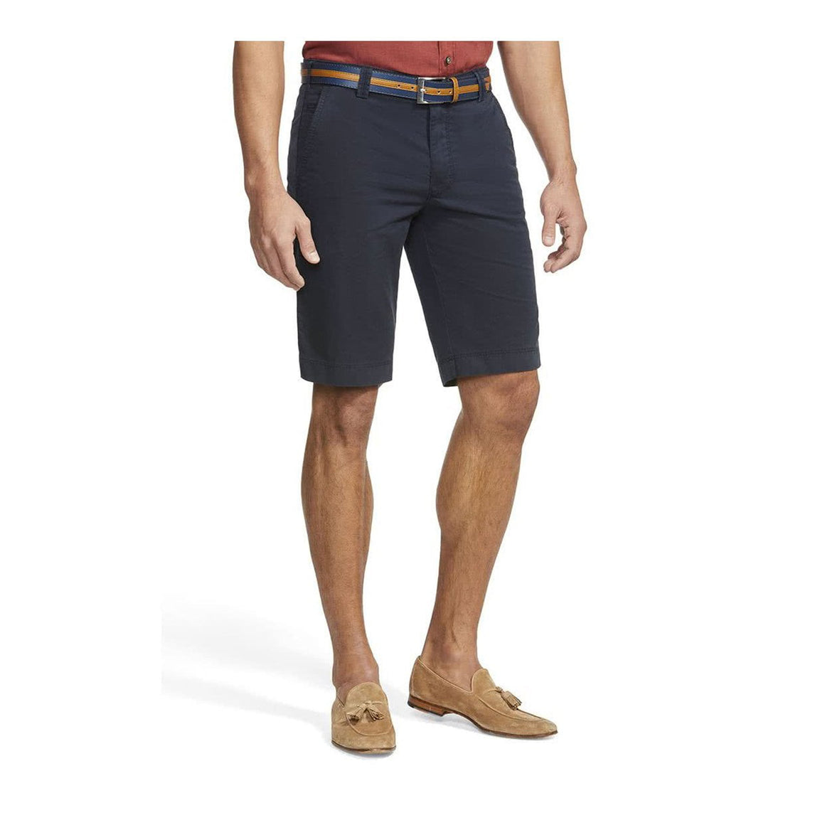 B-Palma Cotton Twill Short  for Men in Navy