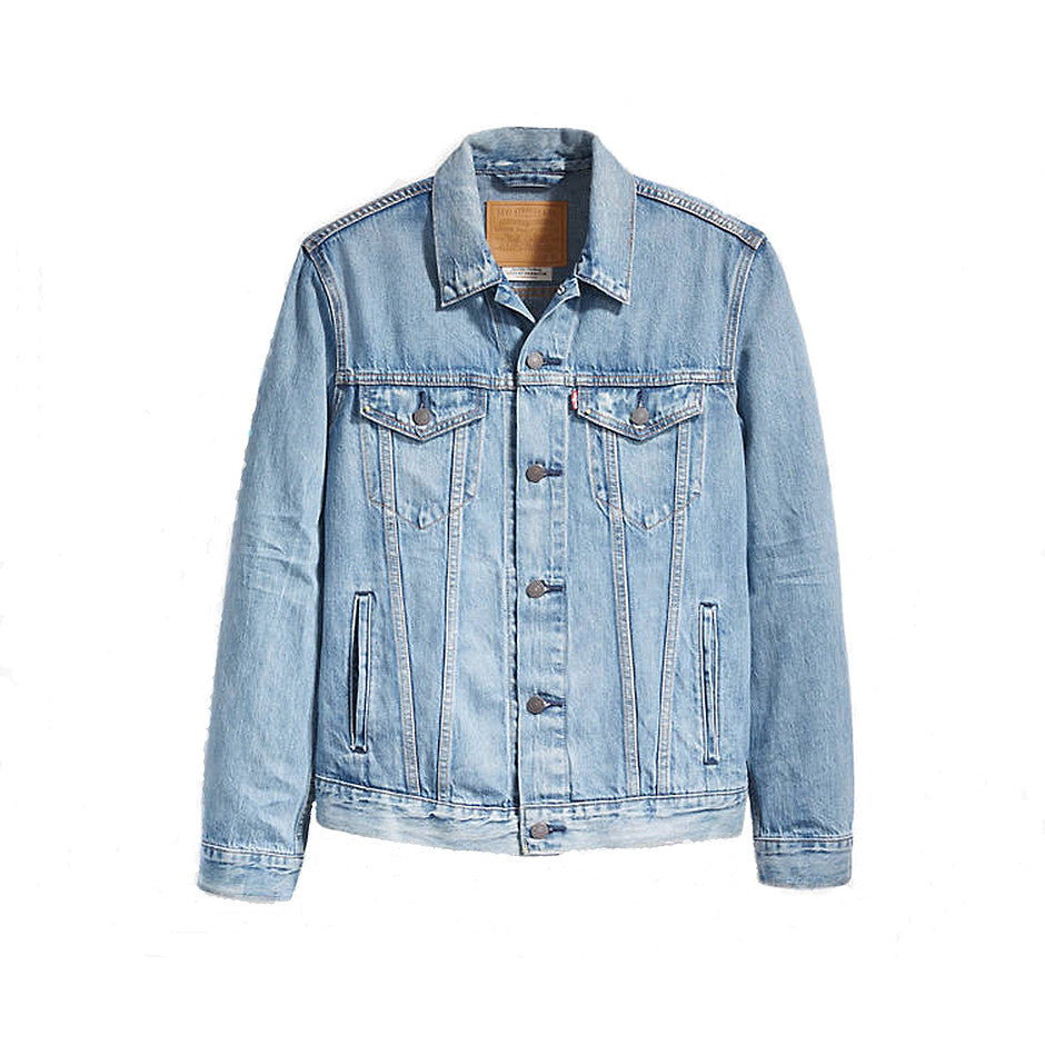 The Trucker Jacket Killbrew for Men in Stonewash