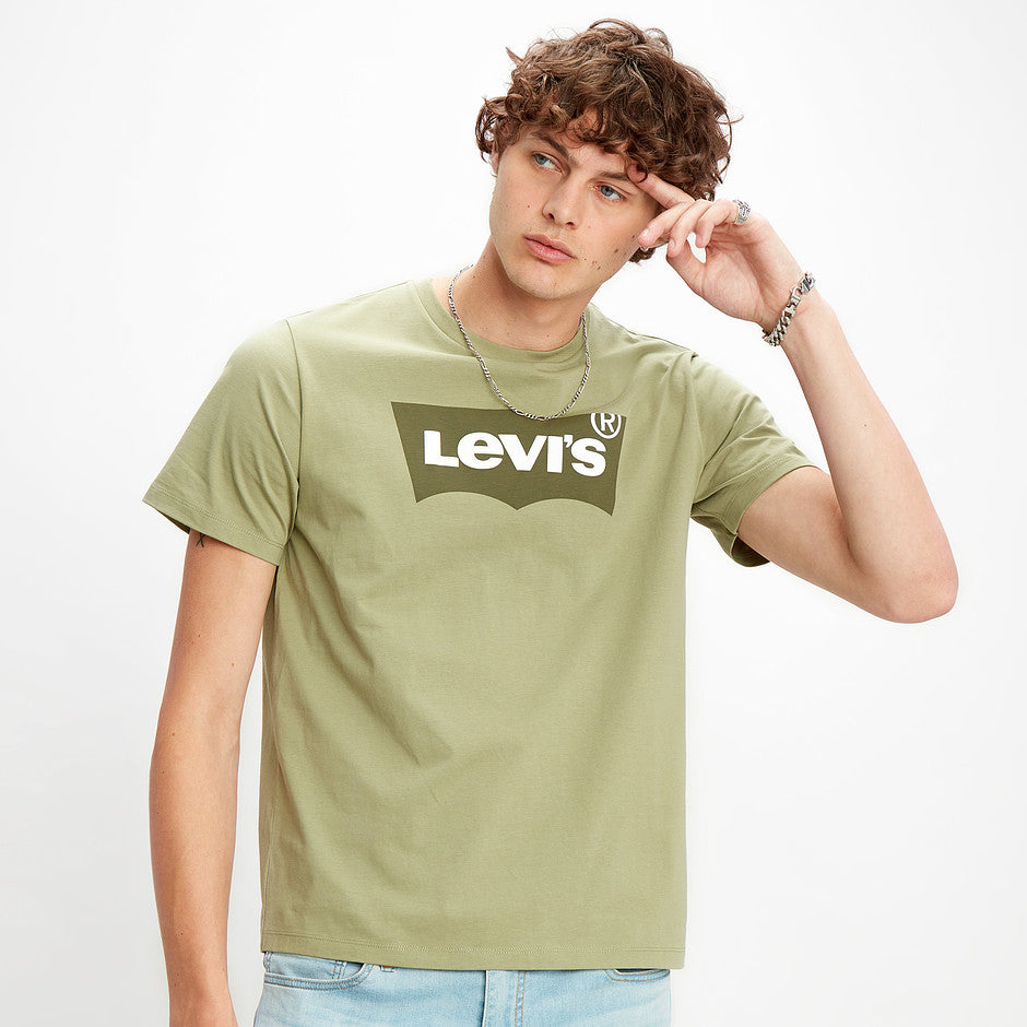 Housemark Graphic Tee HM for Men in Olive
