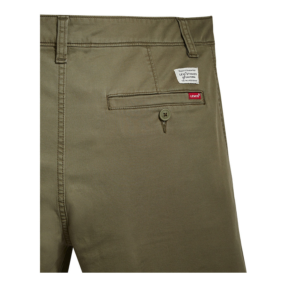 XX Chino Taper Short for Men in Olive