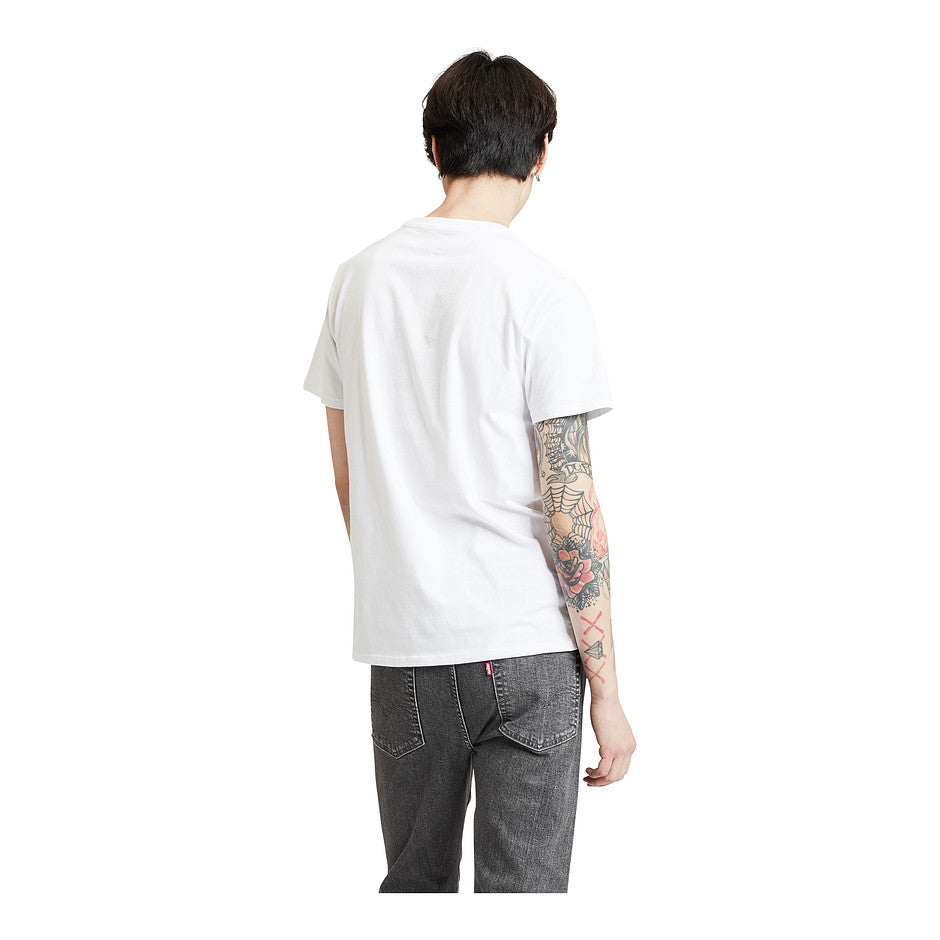Housemark Graphic Tee Flamingo for Men in White
