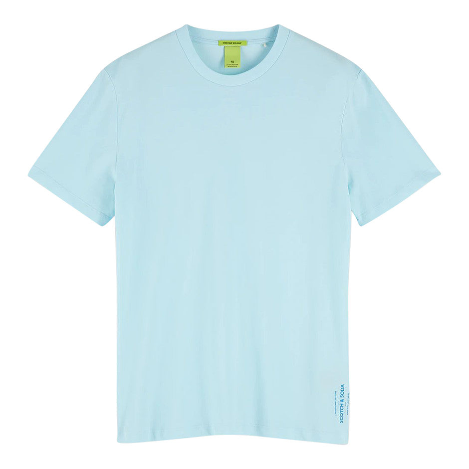 Pique Tee for Men in Turquoise