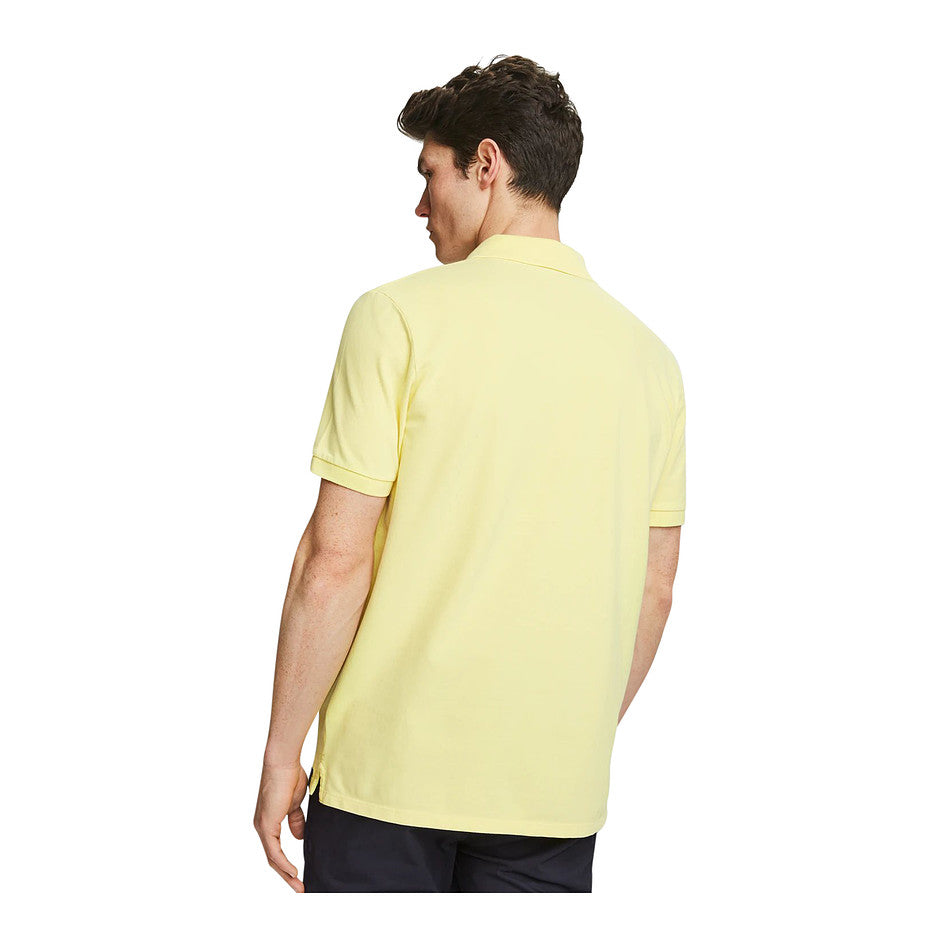 Short Sleeve Polo for Men in Yellow