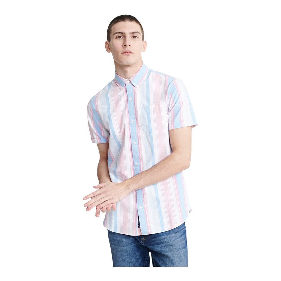 Classic East Coast SS Shirt for Men in Multi 1