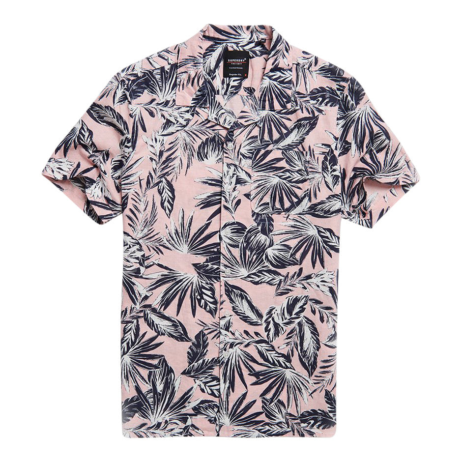 Edit Cabana SS Shirt for Men in Pink