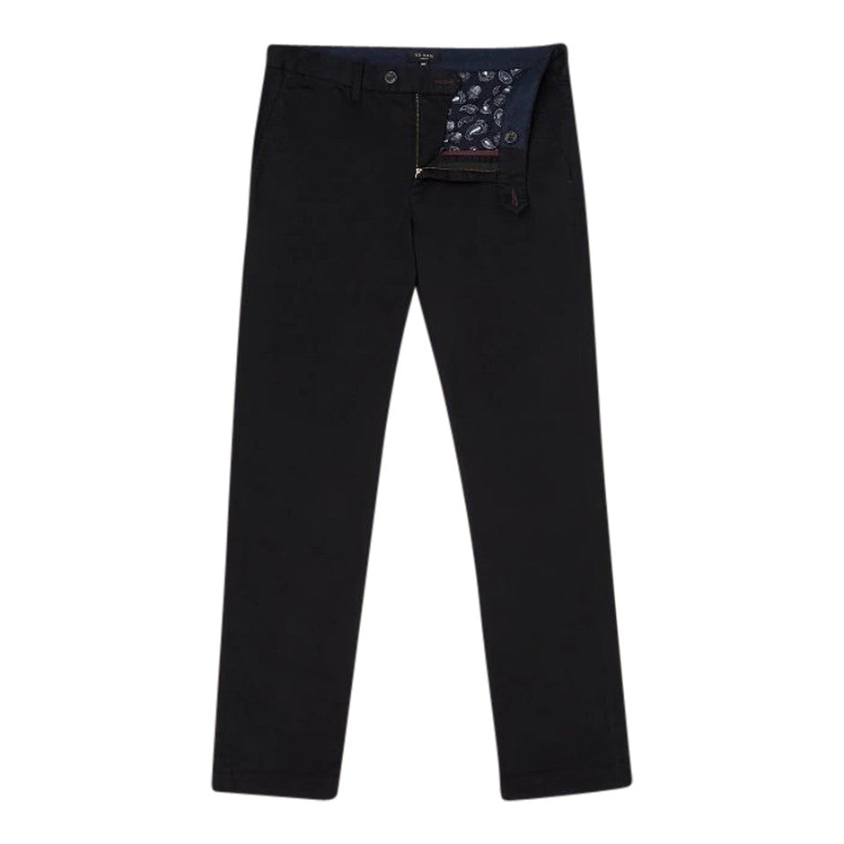 Slim Fit Chino for Men in Black