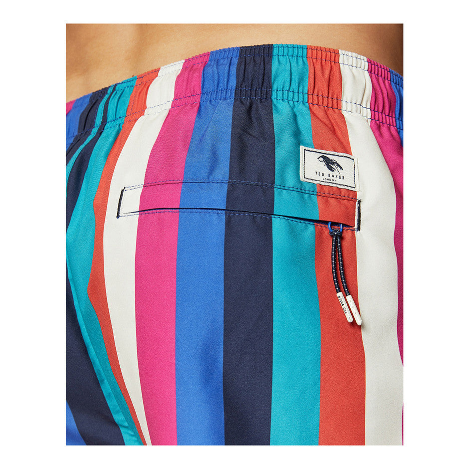 Stripe Swim Shorts for Men in Multi 1
