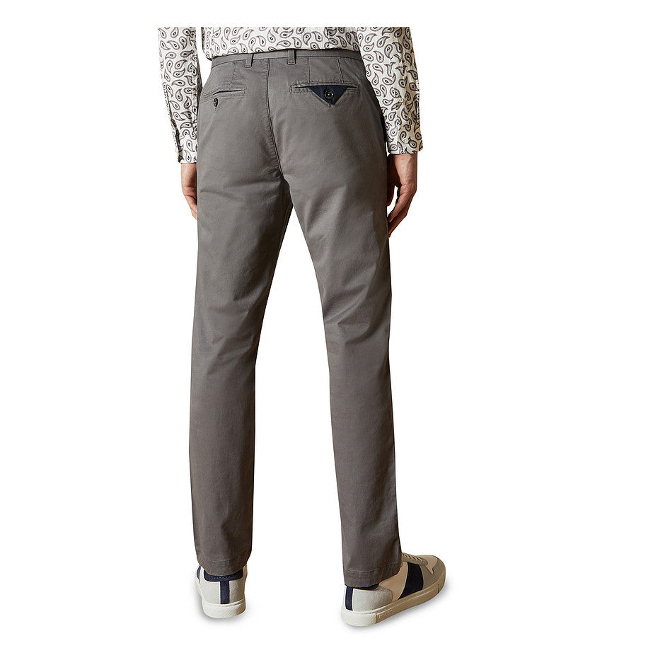 Slim Fit Chino for Men in Stone