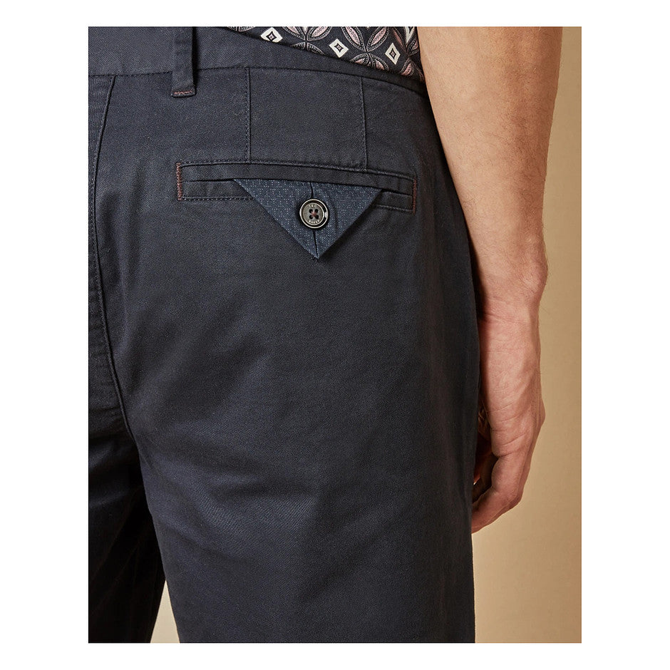 Slim Fit Shorts for Men in Navy