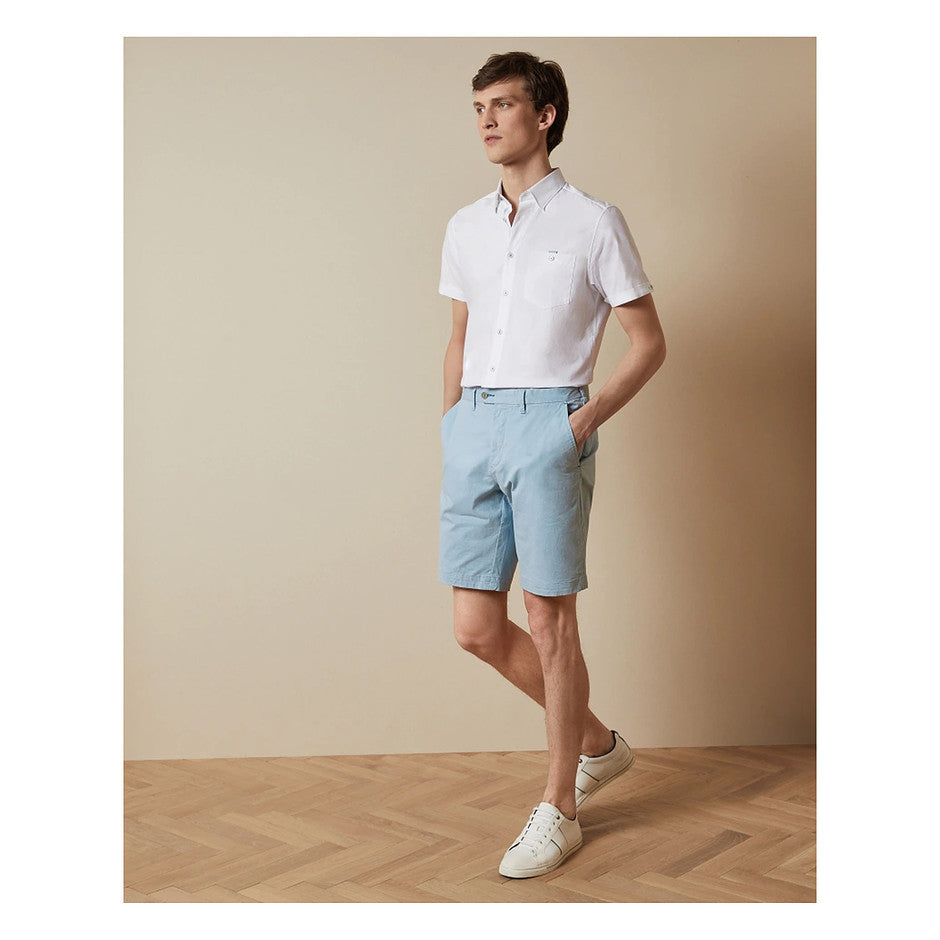 Slim Fit Shorts for Men in Sky