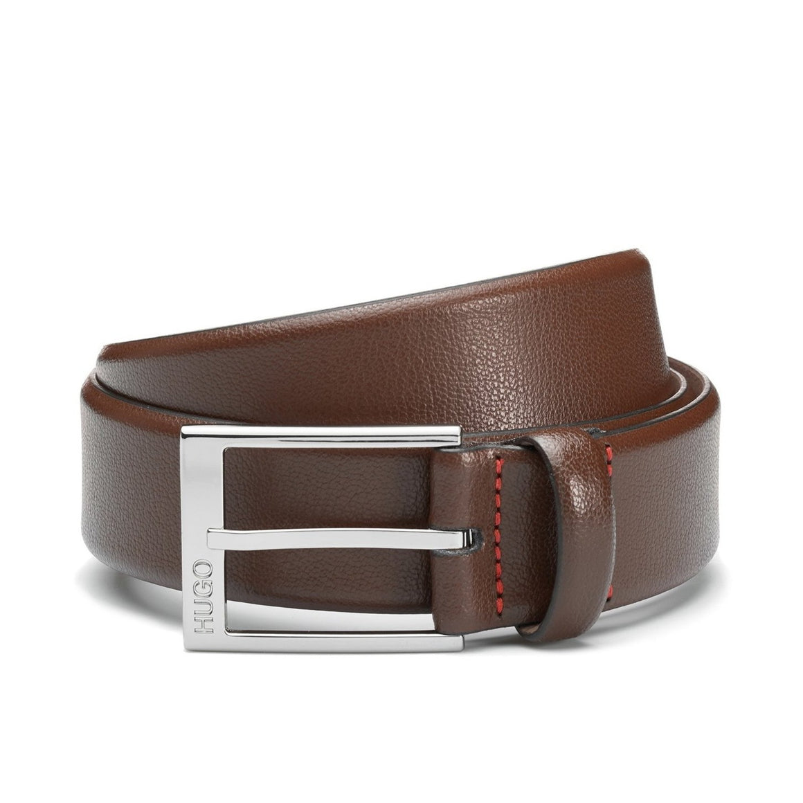 Leather Belt for Men in Brown