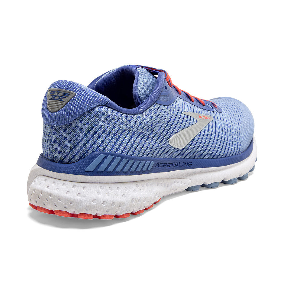 Adrenaline GTS 20 Running Shoes for Women in Blue & Silver