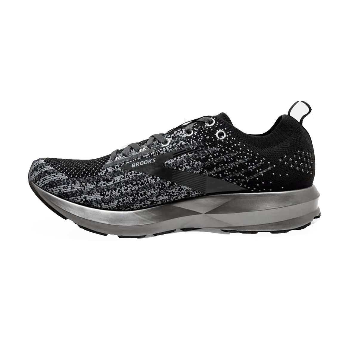 Levitate 3 Running Shoes for Women in Black & Silver
