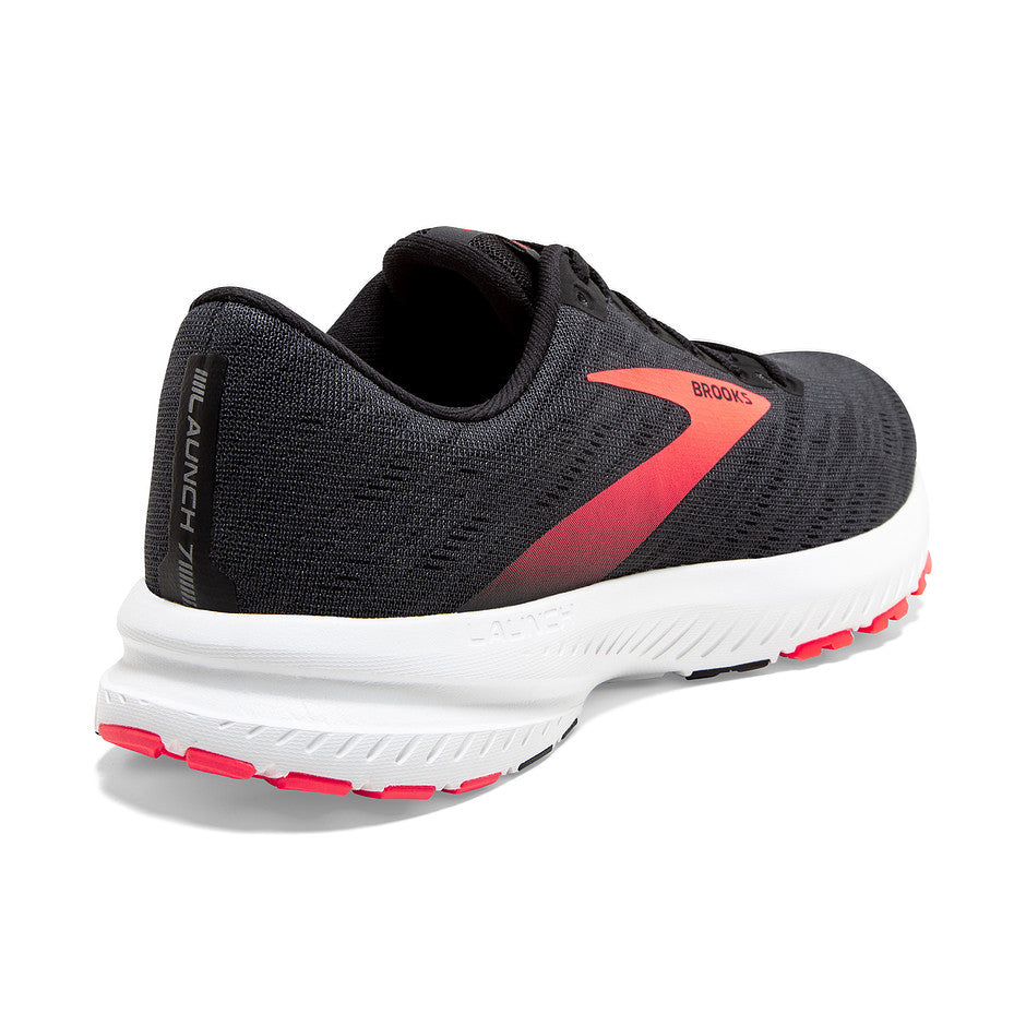 Launch 7 Running Shoes for Women in Black & Pink 038