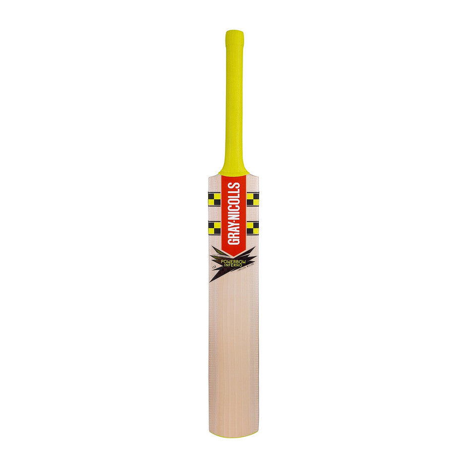 Powerbow Inferno Powerblade Cricket Bat for Kids in Yellow & Black