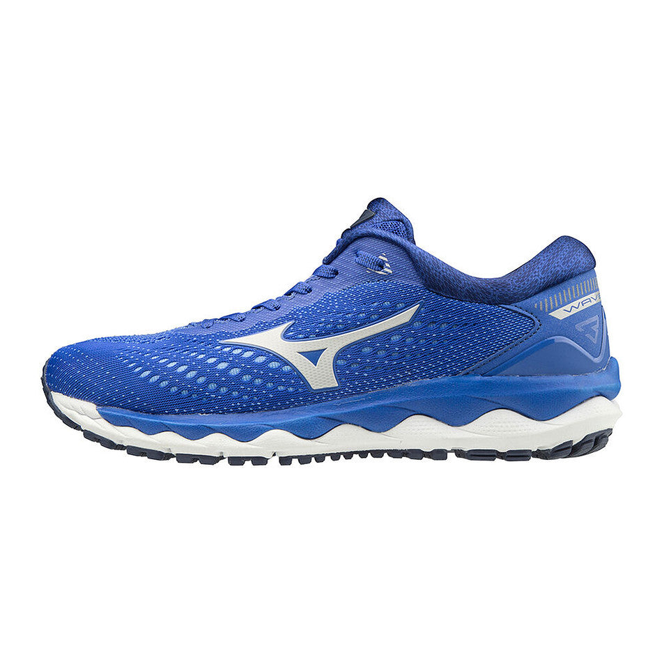 Wave Sky 3 Running Shoes for Women in Dark Blue/Cloud/Ultra Marine