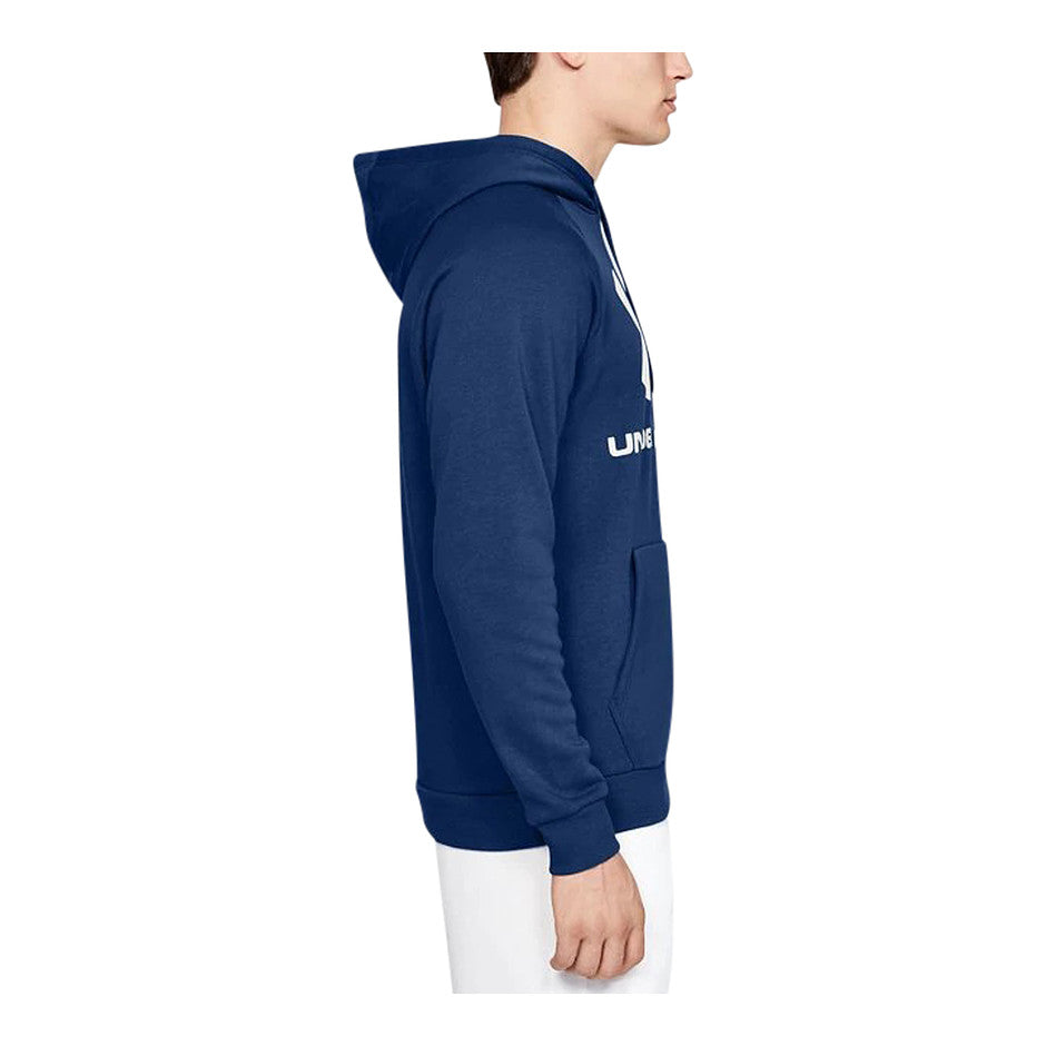 Rival Fleece Sportstyle Hoodie for Men in Blue