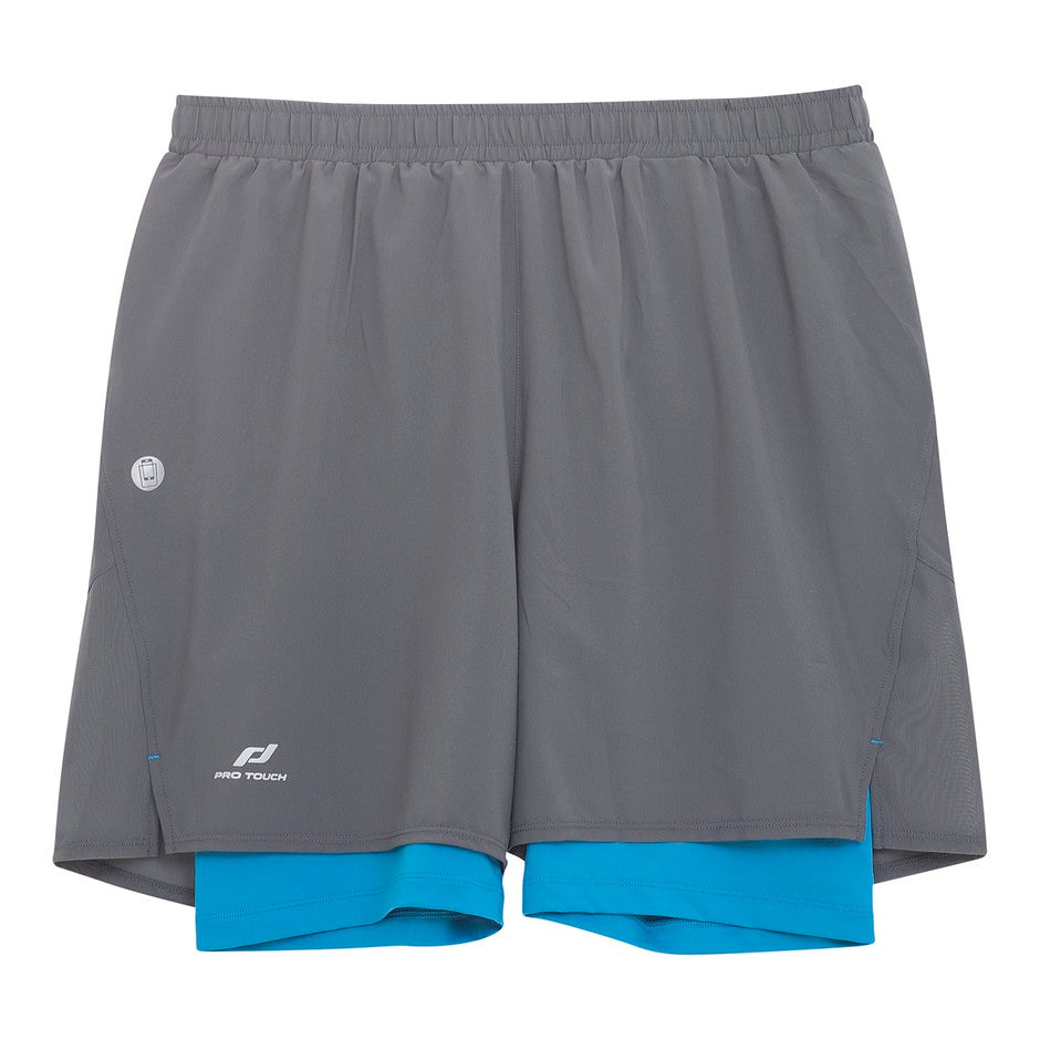 Striko UX Short for Men in Charcoal & Blue