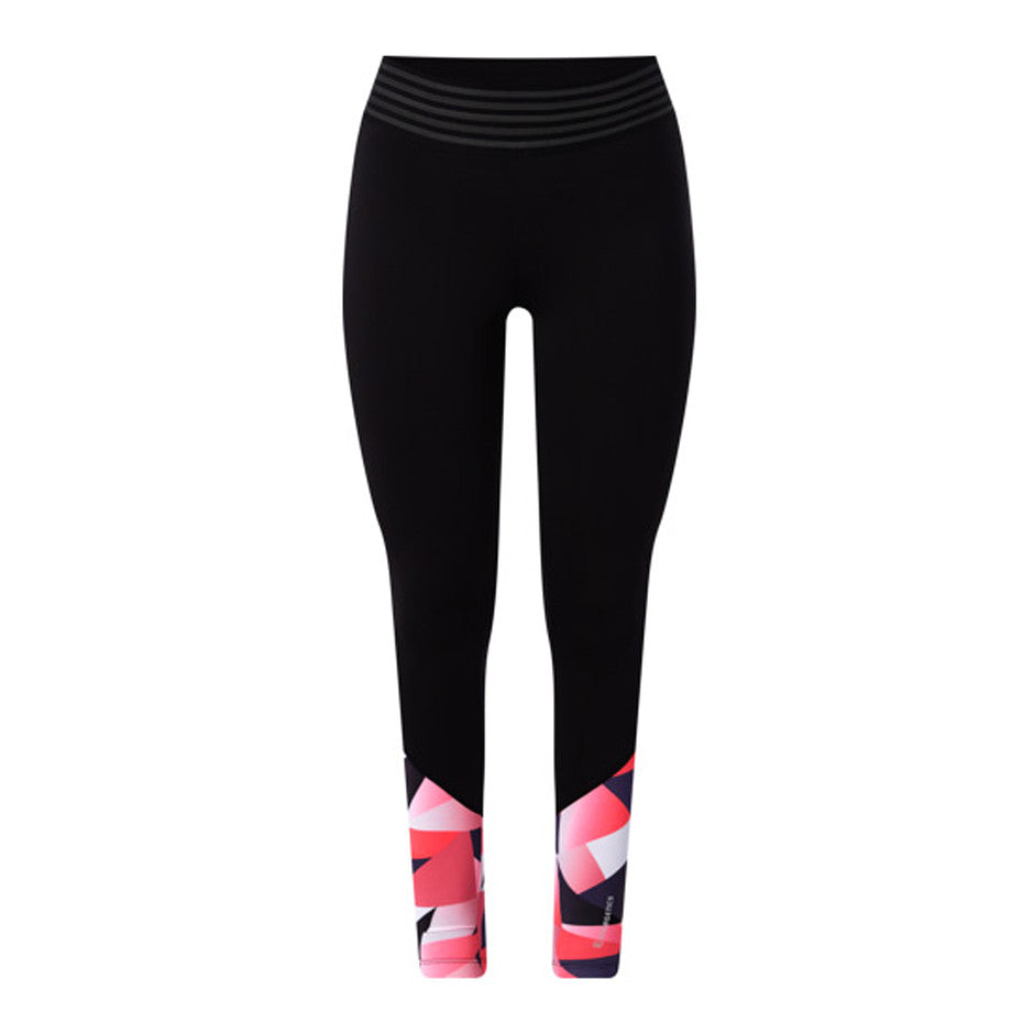 Kastienne 3 Tights for Women in Black & Pink