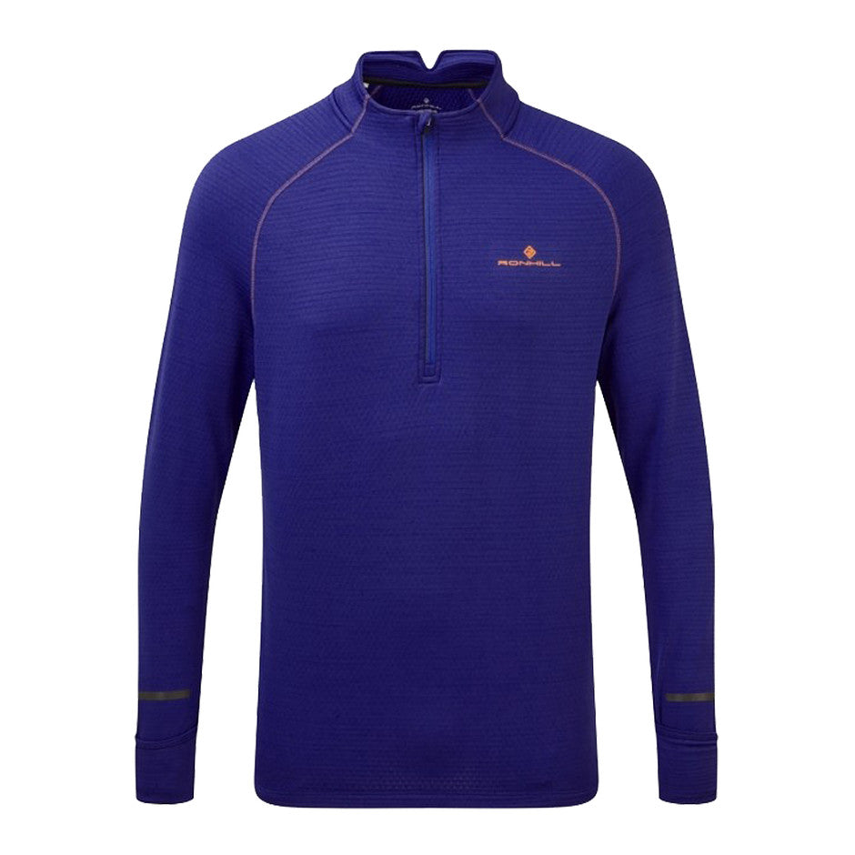 Stride Matrix 1/2 Zip Tee for Men in Blue