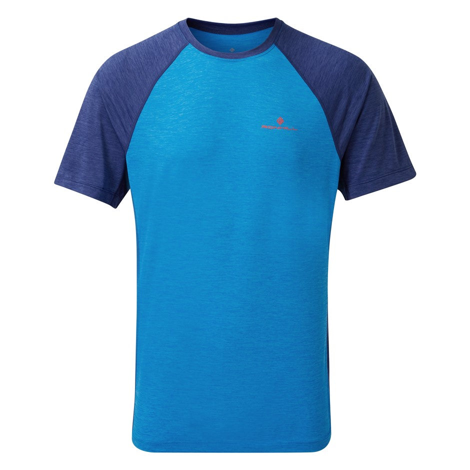 Momentum Short Sleeve Tee for Men in Blue & Royal