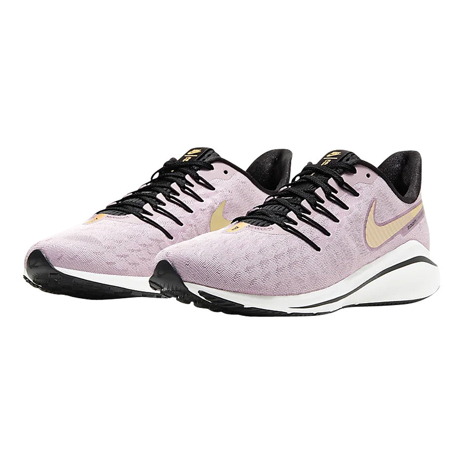 Air Zoom Vomero 14 Running Shoe for Women in Plum Chalk/Infinite Gold/Silver Lilac/Metallic Gold