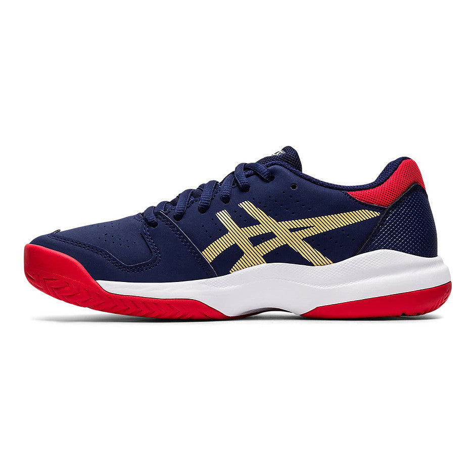 Gel-Game 7 GS Trainers for Kids in Navy & Red