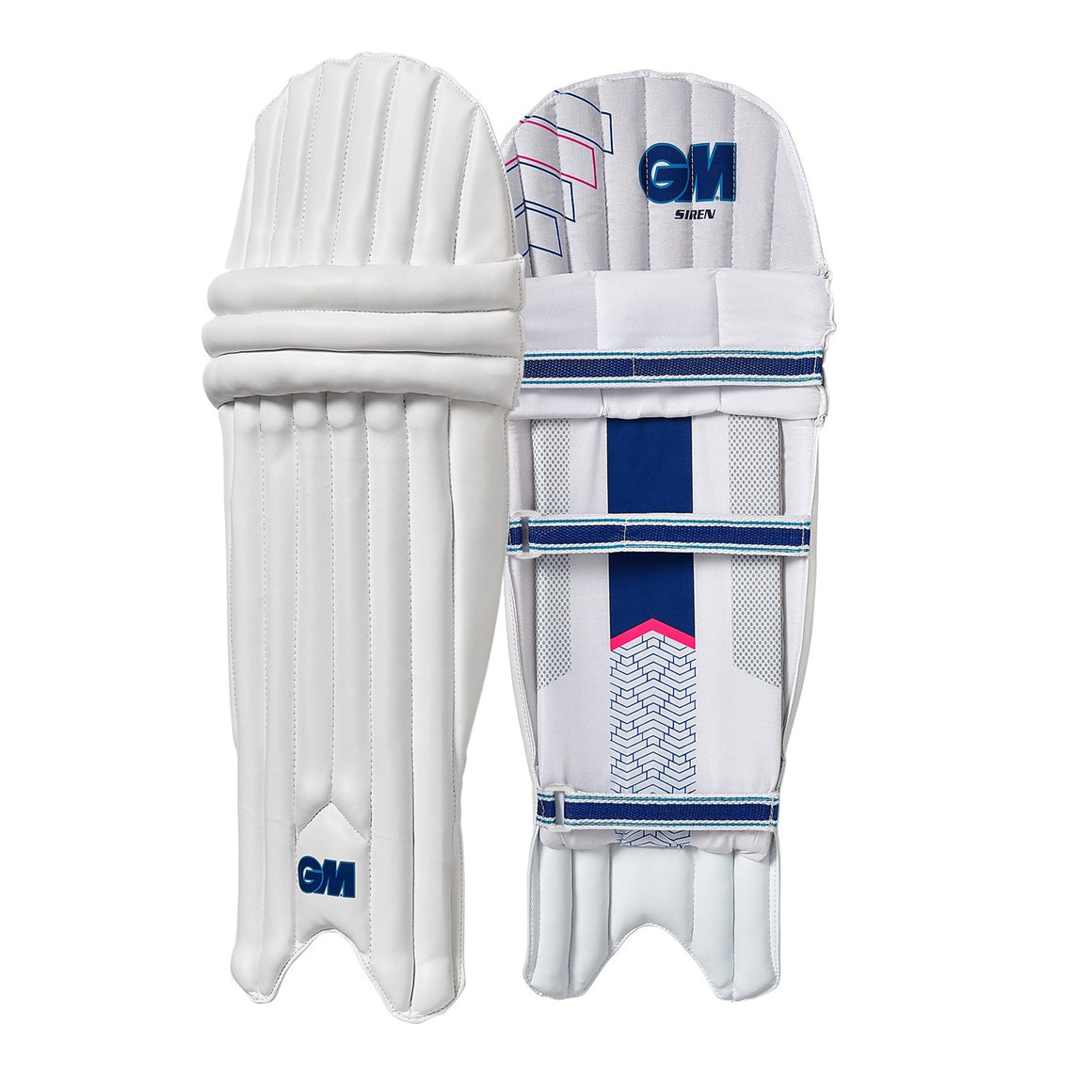 Siren Ambi Batting Pads for Kids in White
