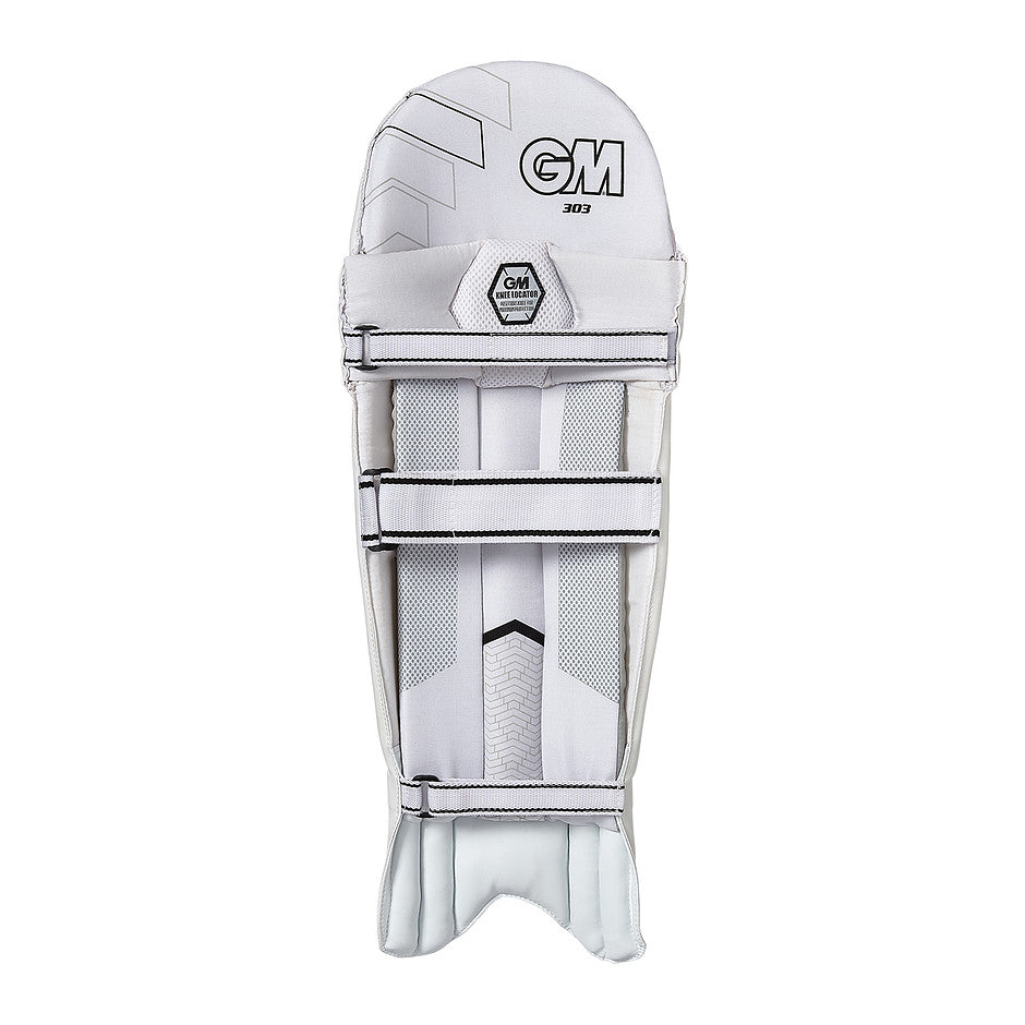 303 Ambi Batting Pads for Kids in White