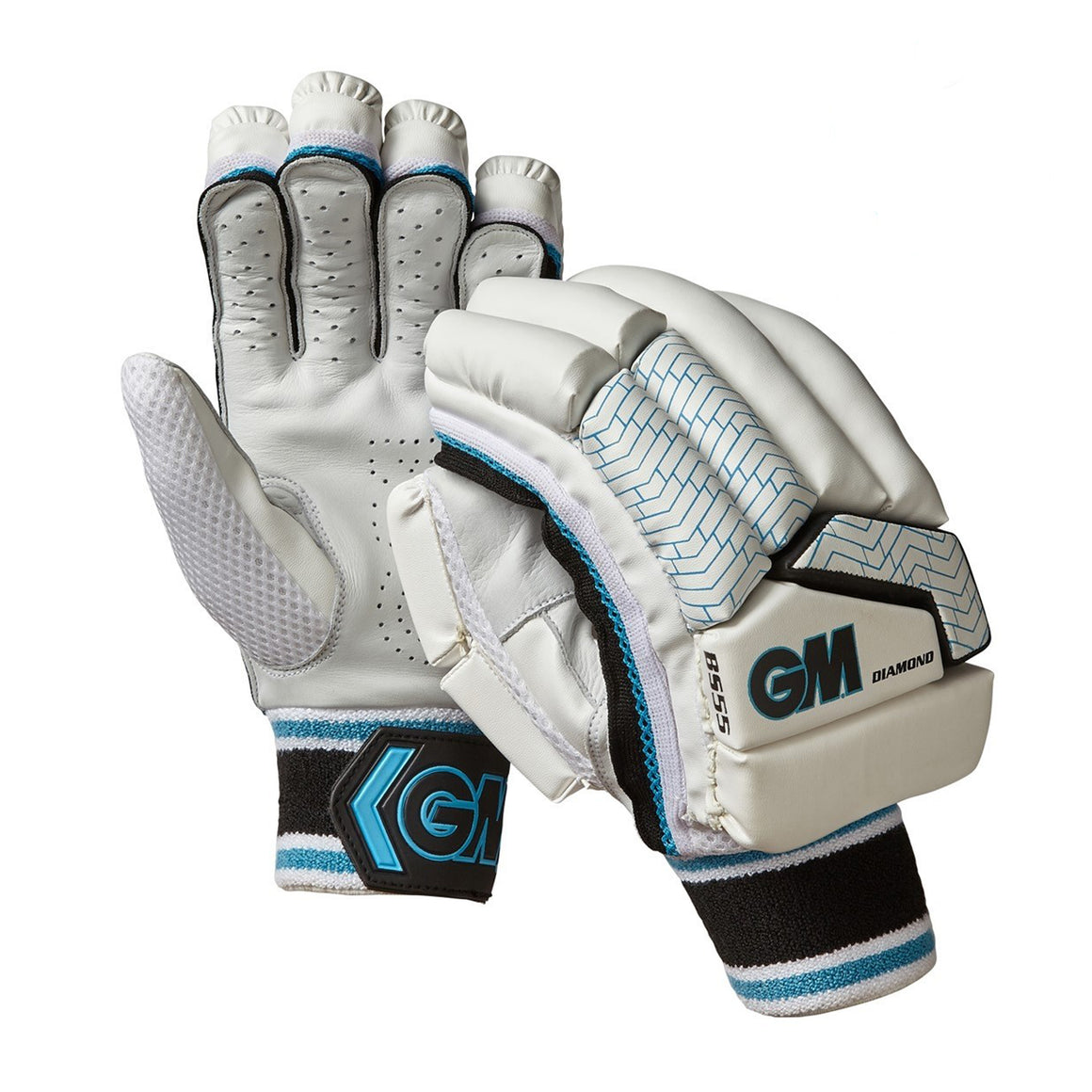 Diamond B555 R/H Batting Glove for Kids in White
