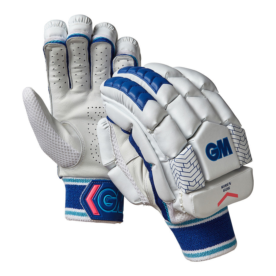 Siren 606 R/H Batting Gloves for Adults and Kids in White