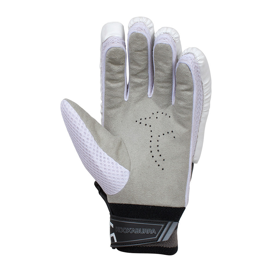 Shadow 5.1 R/H Batting Gloves for Adults and Kids in White & Black