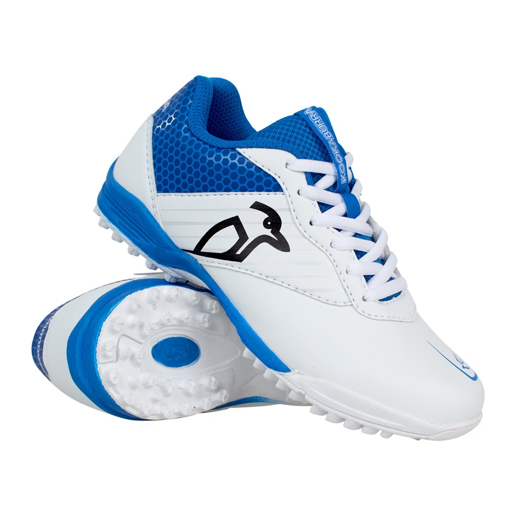 KC 5.0 Rubber for Kids in White & Blue
