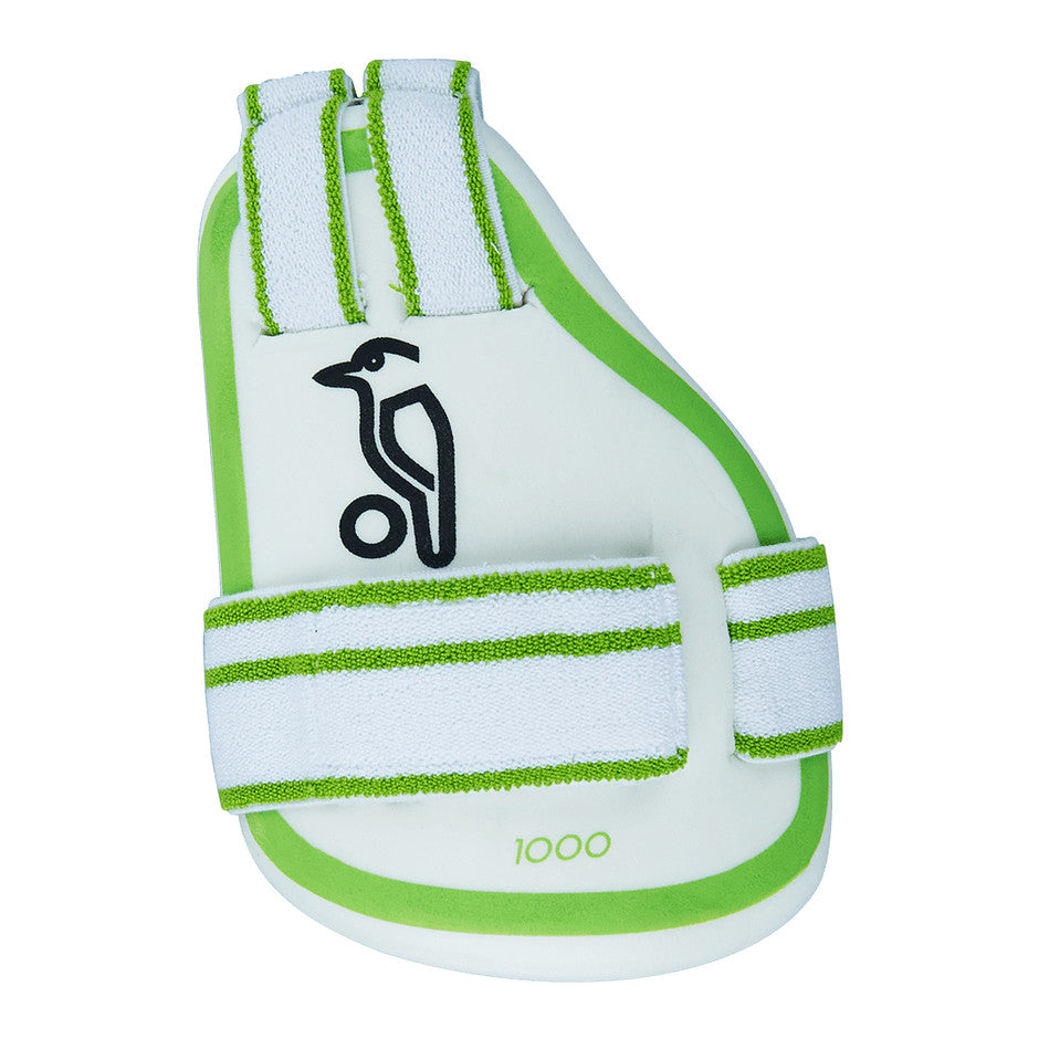 1000 Iner Thigh Guard R/H for Kids in White & Green