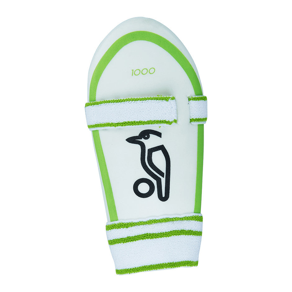 1000 Arm Guard for Kids in White & Green