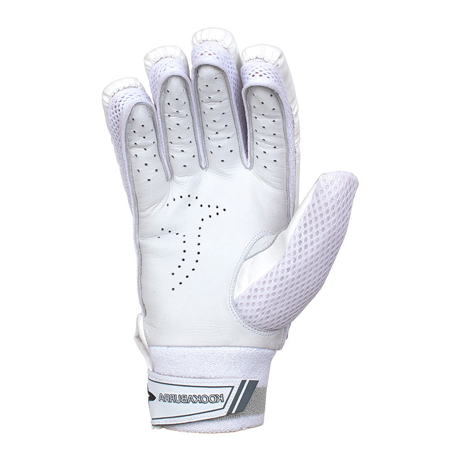 Ghost 4.2 L/H Batting Gloves for Adults and Kids in White - Various Size Options