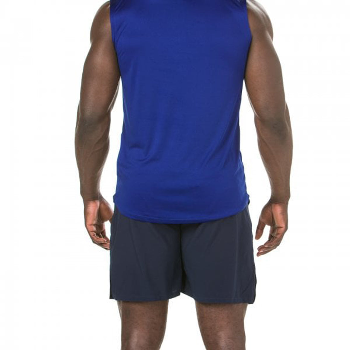 Vapodri Woven Gym Short for Men in Navy
