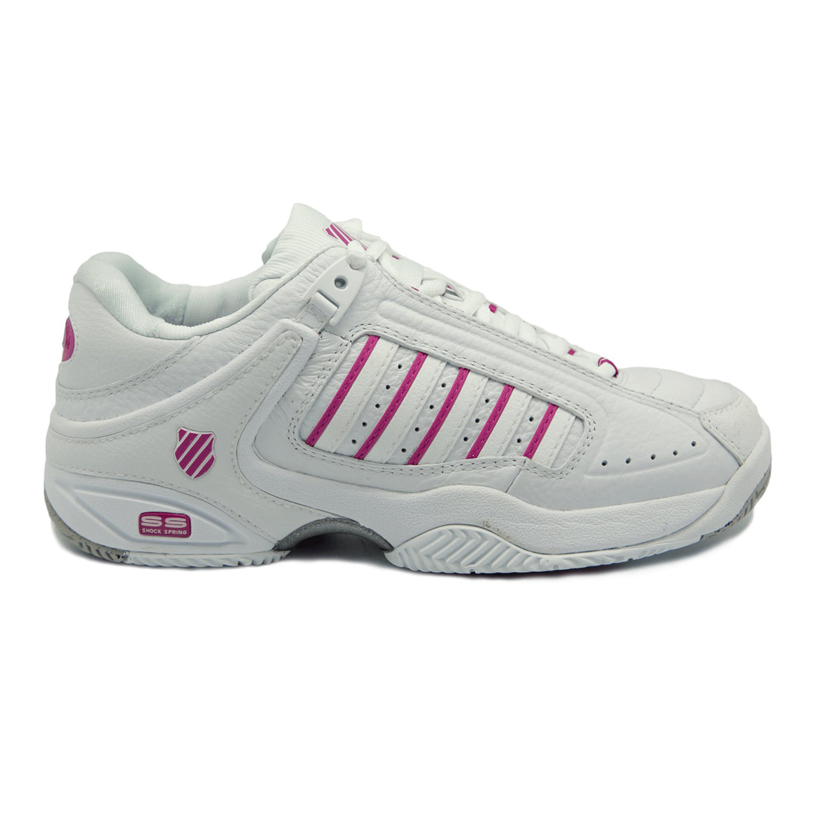 Defier Trainers for Women in White/Berry