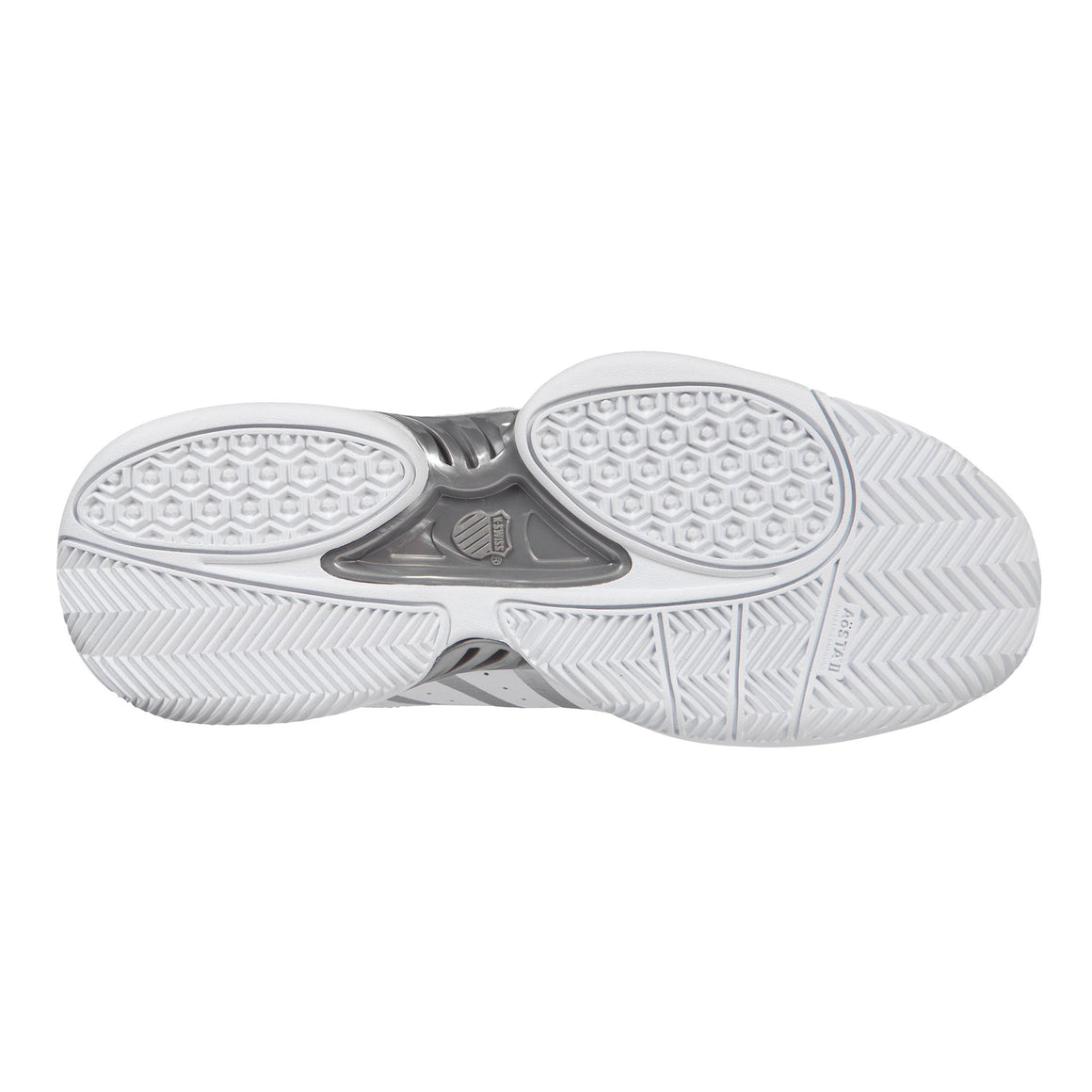 Receiver IV Trainers for Women in White & Silver