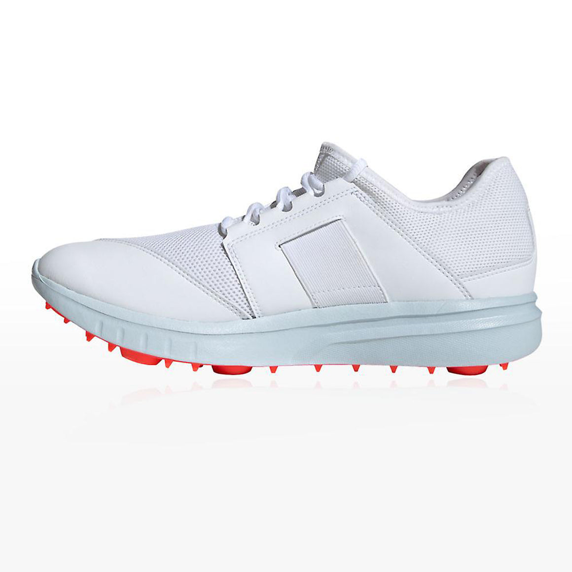 Howzat Spike Cricket Shoes for Men in White