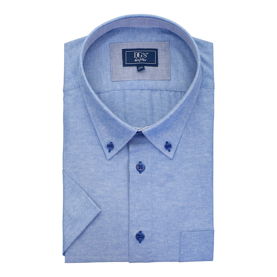 SS Shirt for Men in Blue