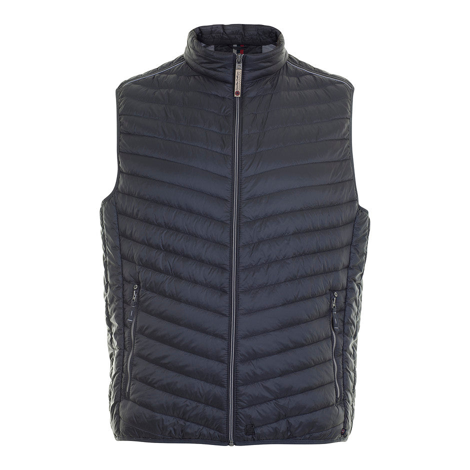 Wade Quilt Gillet for Men in Grey