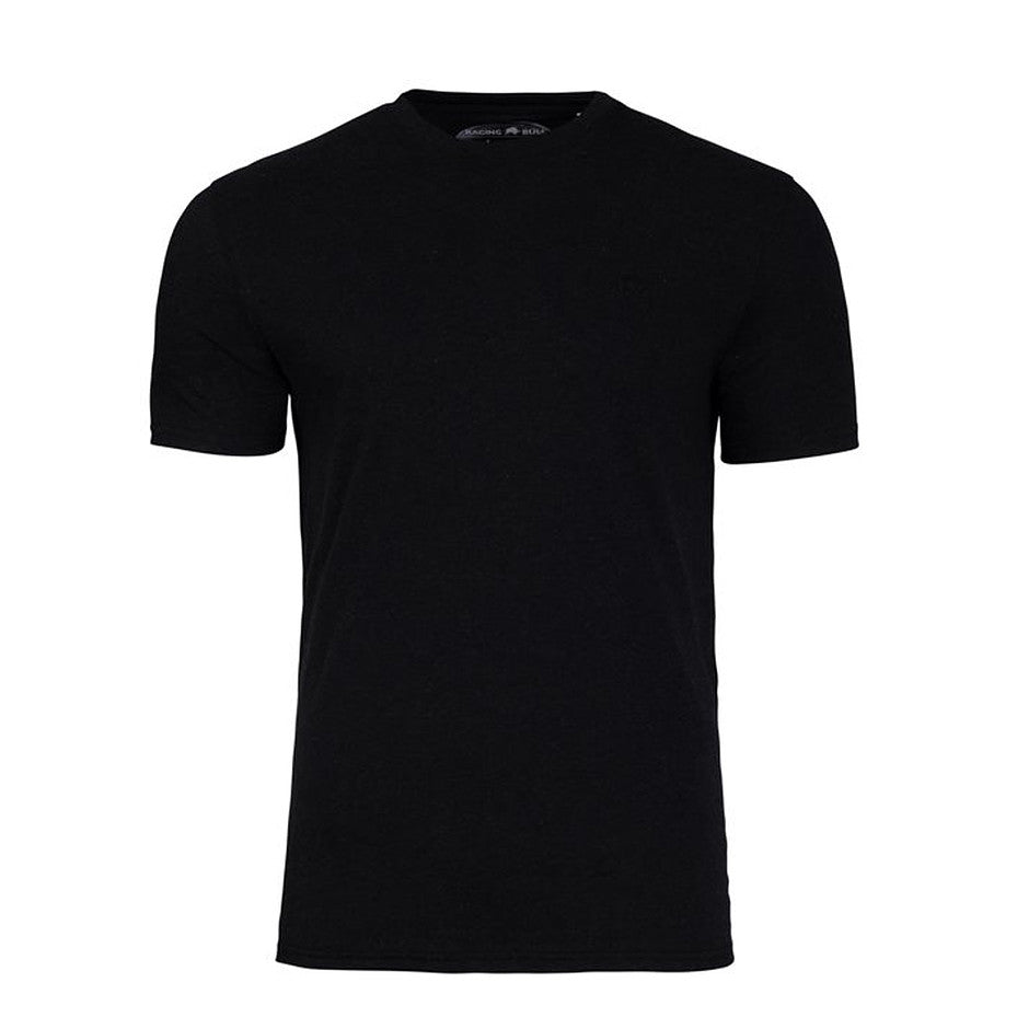 Crew Neck T-Shirt for Men in Black