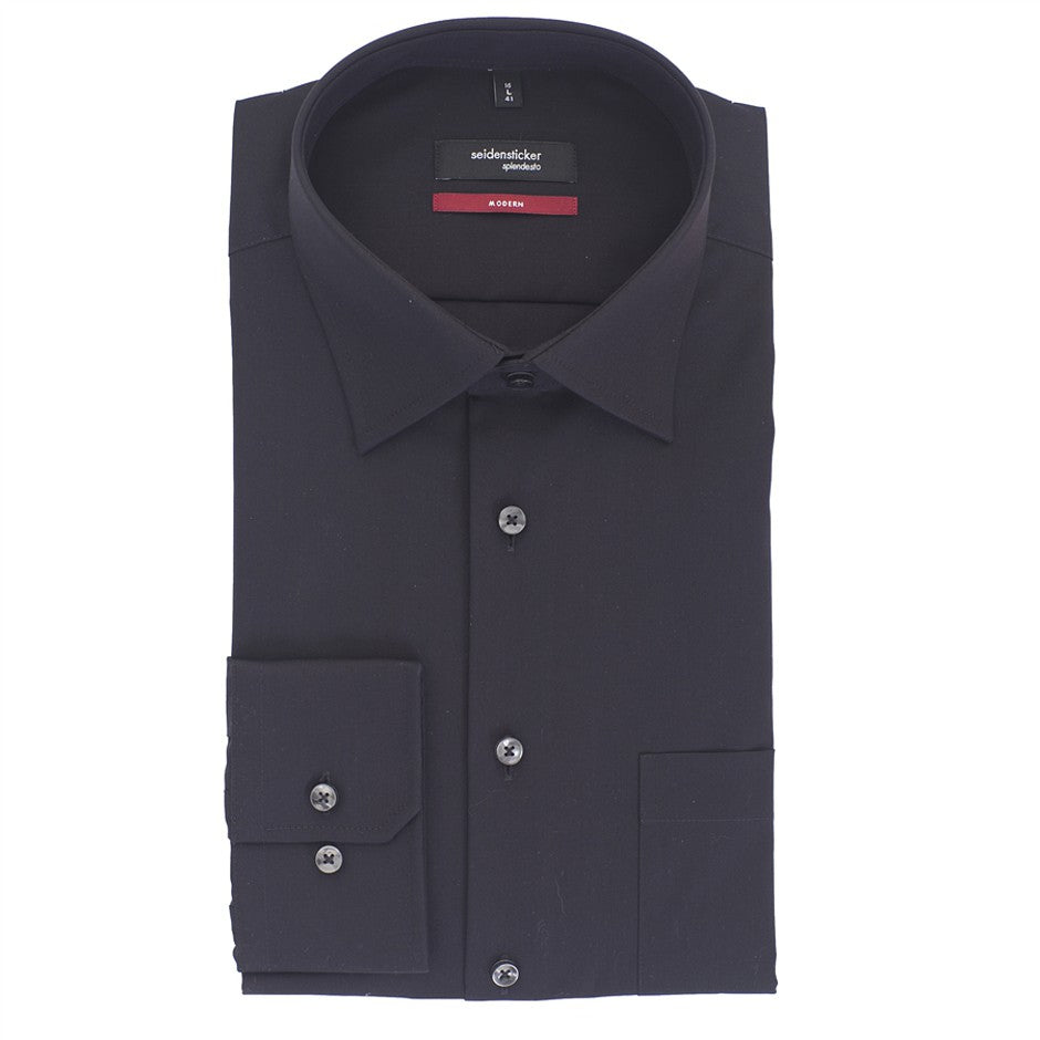 Mens Formal Shirt in Black