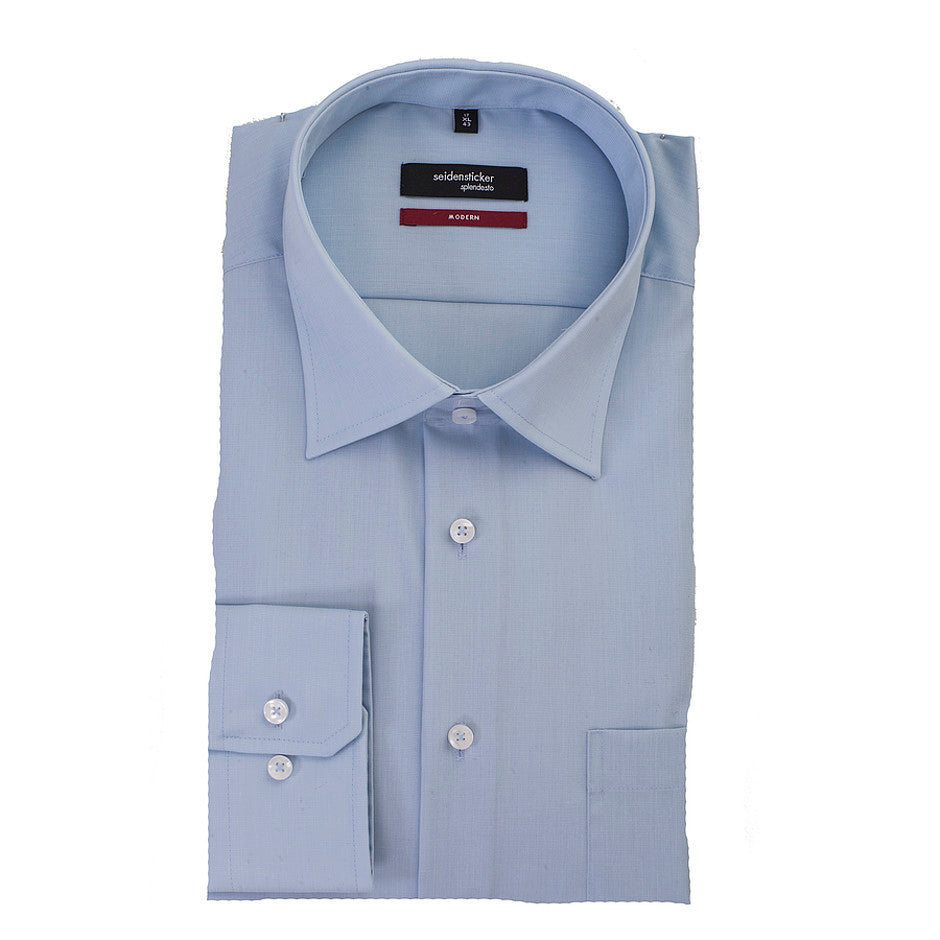 Splendesto Plus Shirt for Men in Blue - Extra Tall