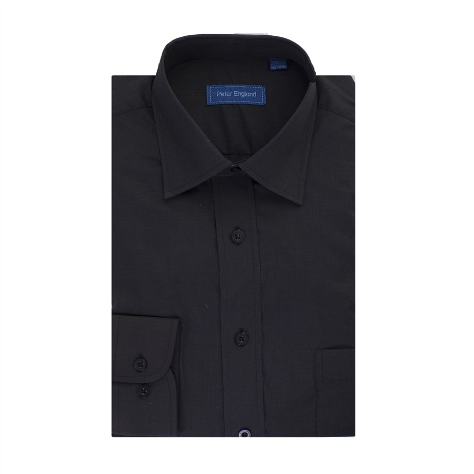 Shirt for Men in Black - Extra Tall