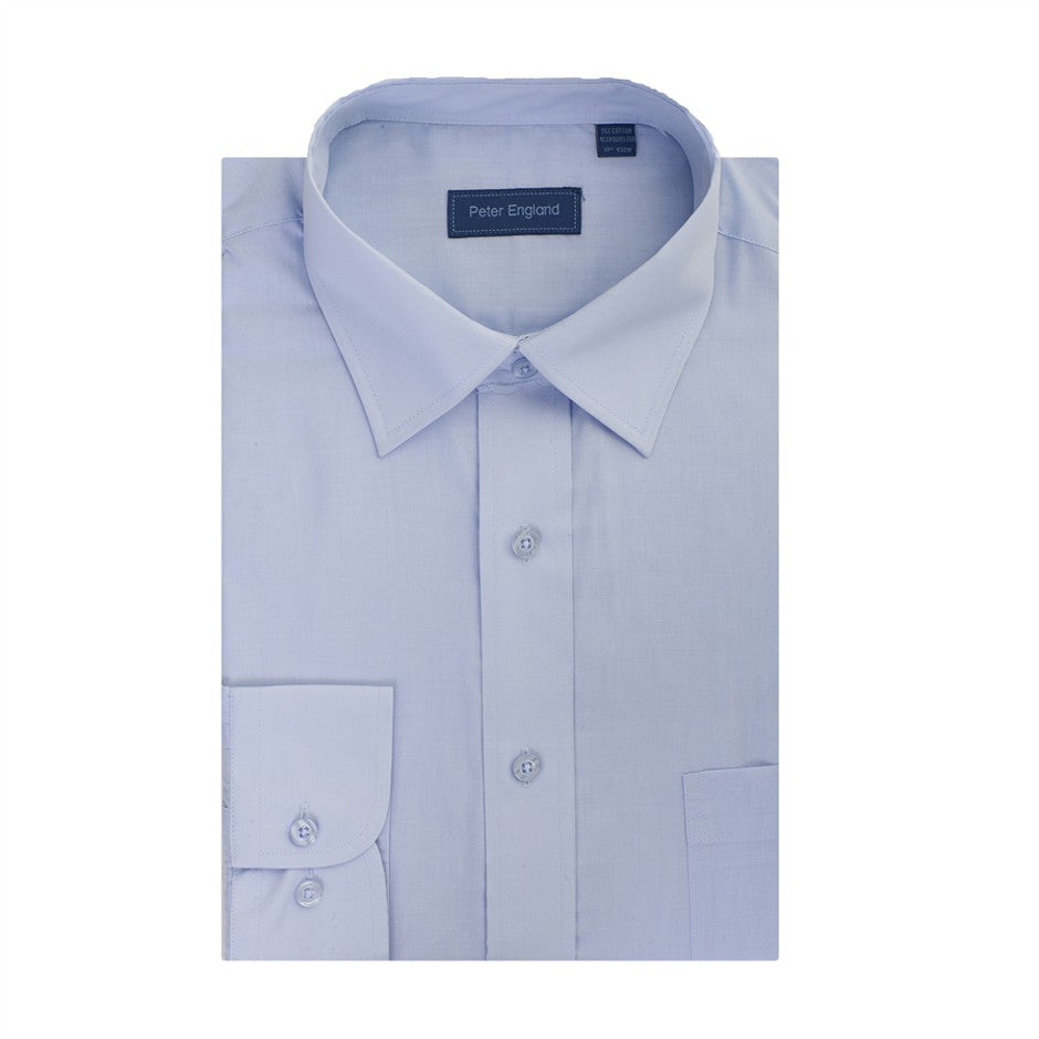 Shirt for Men in Light Blue - Extra Tall