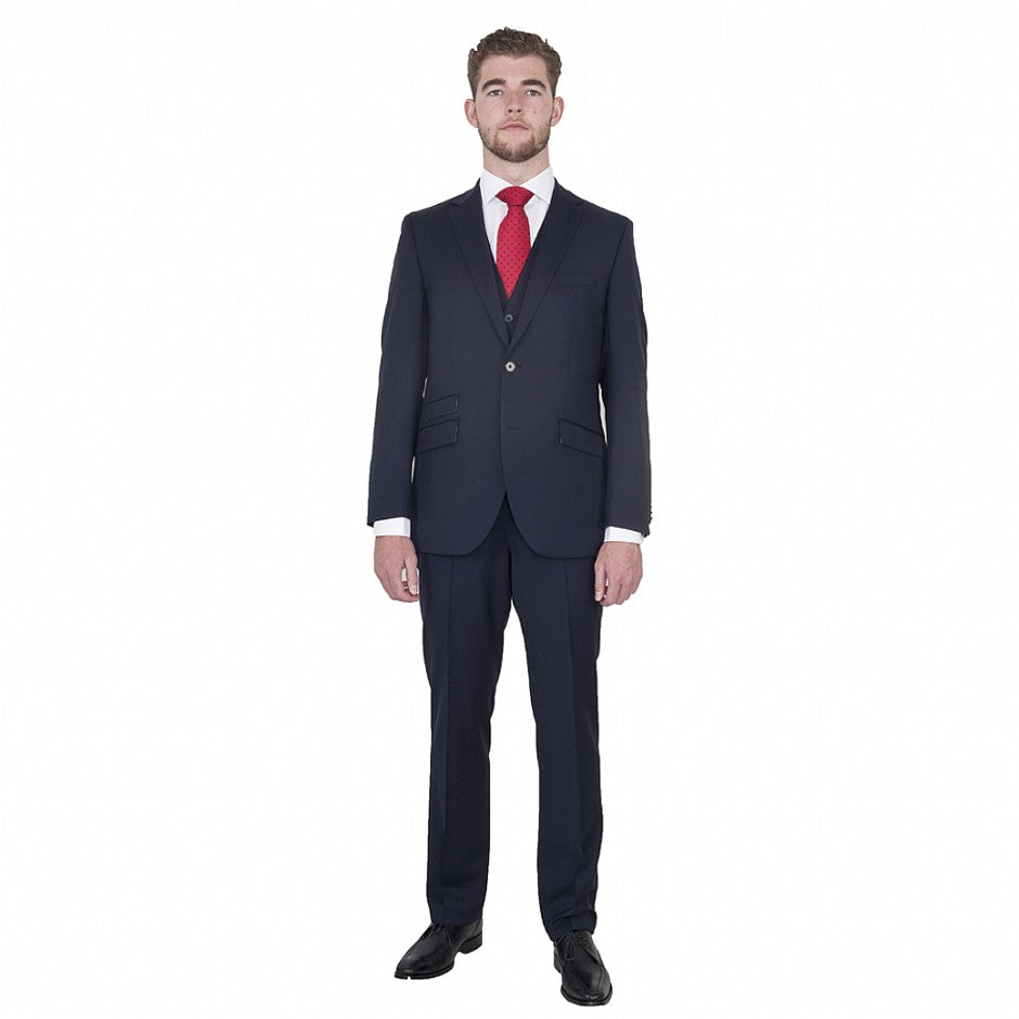 Randolph Mix and Match Wool Suit for Men in Midnight Navy