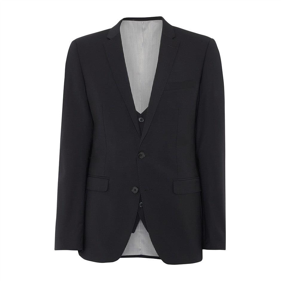 Extra-Slim Suit Jacket for Men in Black