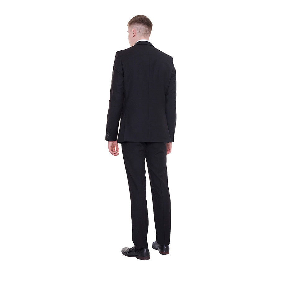 Plain Suit for Men in Black